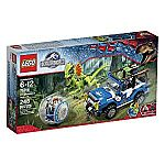 LEGO Jurassic World Dilophosaurus Ambush 75916 Building Kit $22