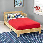 KidKraft Toddler Houston Bed, Natural $49.91