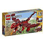 LEGO Creator 31032 Red Creatures $10.99