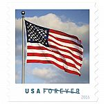USPS New US Flag Booklet of 10, 13 for $47.35