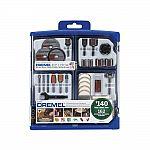 162-Piece Dremel Rotary Accessory Kit $10