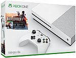 Xbox One S 500GB Console - Battlefield 1 Bundle $230