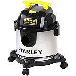 Stanley 4-Gallon Stainless Steel Wet/Dry Vacuum, SL18301-4B $19.97