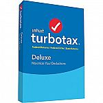 TurboTax Deluxe + State 2016 for Windows/Mac (1 User) $29.89