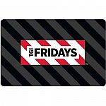 $25 TGI Friday's  Gift Card (Pre-Owned Paper Card) $15
