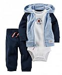 Kohls Cardholders: Carters Baby Clothing Sets: 3x 3-Piece Sets $16.80