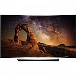 "55"" LG OLED HDR 4K 3D Smart TV OLED55C6P Curved $1479"