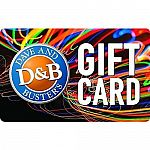 $50 Dave & Busters Gift Card $40