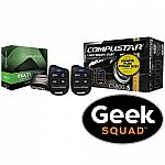CompuStar - CompuStar Remote Start Kit for Select Vehicles with Geek Squad Installation $229