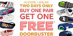 Carter's Shoes Buy 1 Get 1 Free + Free Shipping