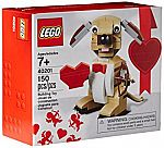 LEGO Bricks & More Valentines Cupid Dog 40201 Building Kit $9.99