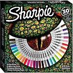 Sharpie Permanent Markers, Special Edition, Assorted, 30 Count plus Bonus Coloring Pages $10