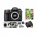 Nikon Refurbished D7100 24.1 MP DSLR Camera (Body) with WU-1a WiFi Adapter Kit $539