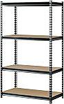 "Muscle Rack 4-Shelf Storage Rack (60"" x 36"" x 18"") $34"