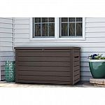 Keter 230-Gallon Deck Box 150Gal Container Box $111