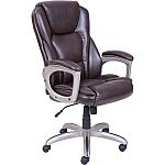 Serta Big & Tall Commercial Office Chair with Memory Foam (Brown) $99