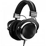 BeyerDynamic DT 880 Premium Semi Open Special Edition Chrome Headphones $159