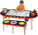 ALEX Toys Artist Studio Super Art Table with Paper Roll $88 (org $174)