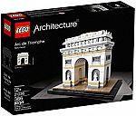 LEGO Architecture Arc De Triomphe 21036 Building Kit (386 Piece) $32 (Was $40)