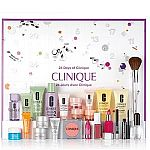 Clinique 24 Days of Gift Set ($186 Value) $65 + Up to 9-pc Free Gift