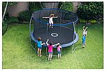 BouncePro 14' Trampoline w/ Proflex Enclosure & Electron Shooter Game $189 (Was $320)