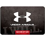 $100 Under Armour Gift Card $90