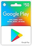 $50 Google Play Gift Card $45