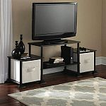 Mainstays No-Tool Assembly 3-Cube Entertainment Center $10 - $12