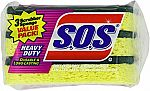 24-Pack S.O.S. Heavy Duty Scrubber Sponge $10.50 (Was $27)