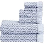 Better Homes & Gardens 6-Piece Towel Set (Various) $9