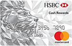 HSBC Cash Rewards Mastercard® credit card - Earn Introductory 3% cash rewards + 10% Bonus