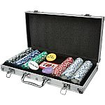 Ideal Win Big! Poker Case, 300-Piece Set $13 (Was $40)