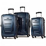 """Samsonite Winfield 2 Fashion Hardside 3 Piece Spinner Set with 20"""", 24"""" and 28"""" Spinners $209"""