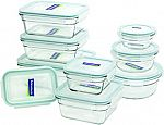 18-Piece Glasslock Assorted Oven Safe Container Set $26 (Was $38) + Free Shipping