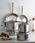 All-Clad Copper Core 10-Pc. Cookware Set $669 (orig. $1860 - New account required)