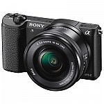 Sony Camera Sale: Sony Alpha a5100 Digital Camera + 16-50mm Lens $498 & More + 5% Rewards + FS