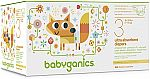 184-Count Babyganics Ultra Absorbent Diapers Economy Pack (Size 3) $26 (Was $60)