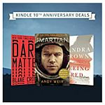 Amazon Kindle 10th Anniversary Sale: Up to 85% Off Top Selling Kindle Books, up to 40% off Kindle Unlimited