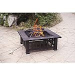 """Axxonn 32"""" Alhambra Fire Pit with Cover $33 (Org $86) & More"""