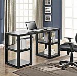 Altra Deluxe Parsons Desk, Black Oak $68.94