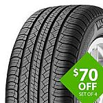 $70 Off Set of 4 Michelin Tires