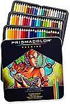 72-Count Prismacolor Premier Colored Pencils, Soft Core $24