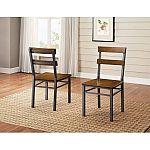Set of 2 Mercer Dining Chair $33.67 (orig. $129)