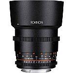 Rokinon 85mm T1.5 Cine DS Aspherical Lens (Nikon, Canon, Sony E, Micro 4/3 Mount) $299 and More + Free Shipping