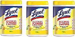 330-Count Lysol Disinfecting Wipes (Lemon & Lime Blossom) $7.55