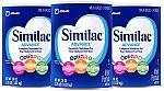 3-Pk 36-oz Similac Advance Infant Formula $58