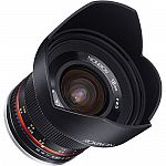 Rokinon 12mm f/2.0 NCS CS Lens $279