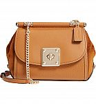 Coach Mixed Leather Crossbody Bag $237 (40% Off) and More