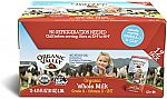 12-Pack Organic Valley, Organic Milk Boxes, Whole Milk, 6.75 Ounces $13.10 (Prime Only)