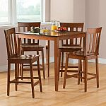 Mainstays 5-Piece Counter-Height Dining Set $109.85 (Save 89.15) & More